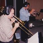 Demetrios Kastaris, Claudio Roditi, Jazz trumpet and flugelhorn virtuoso, Skylight Studio, Belleville, New Jersey. July, 1999, photo credit, Hilda Kastaris.
