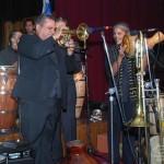 Jazz Great, Ray Vega on the Flugelhorn, Stathakion Cultural Center, Astoria, Queens, New York, November 4, 2007.