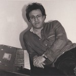 Maestro Edy Martinez in his home in Queens, New York, March, 1990, photo by Demetrios Kastaris.