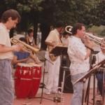 Latin Jazz Concert at MacDonald Park, Forest Hills, Queens, New York. June, 1990.