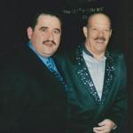 Left, Demetrios Kastaris, right: Larry Harlow (El Judillo Maravilloso) of Fania All Stars fame.