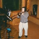 Demetrios recording in Long Island
