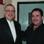 Paquito D' Rivera, Demetrios Kastaris, New Jersey City University, April 28, 2003, photo by Jerry Lacay.