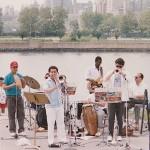 Concert in Astoria, Queens, New York.