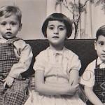 Rip, Penny, Demetrios, Lorain, Ohio, around 1963.