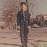 Demetrios, in his Cub Scout uniform around 1967, University City, St. Louis, Missouri.
