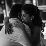 A very special moment. Demetrios giving a tight hug and dancing with his precious baby daughter, Kathryn at her wedding celebration aboard the Lucille. September 1, 2013.