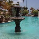 Puerto Rico, pool water fountain, July, 2015, photo credit, Demetrios Kastaris.