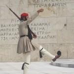 Marching Evzone, Greece, photo credit: Demetrios Kastaris, September, 2014.