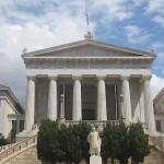 Athens Academy, Athens, Greece, photo credit: Demetrios Kastaris, September, 2014.