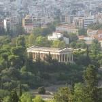 The Temple of Hephaestus, (Theseio), photo credit Demetrios Kastaris, September, 2014.