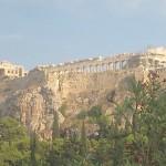 The Acropolis, Athens, Greece, (Acros- point, Polis- City, thus the Acropolis, city on the point of the mountain, photo credit Demetrios Kastaris, September, 2014.