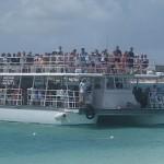 Boat in the Bahamas, August, 2014, photo credit, Demetrios Kastaris