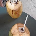 Puerto Rico, coconut juice, July, 2015, photo credit, Demetrios Kastaris.