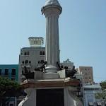 Puerto Rico, Statues in Square, July, 2015, photo credit, Demetrios Kastaris.