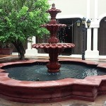 Puerto Rico, water fountain, July, 2015, photo credit, Demetrios Kastaris.