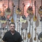 Bouzouki and Baglama store in Monastiraki, Athens, Greece,  photo credit: Demetrios Kastaris, September, 2014.