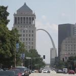 Downtown St. Louis, Missouri, Gateway Arch in background, Photo credit, Demetrios Kastaris, September, 2015